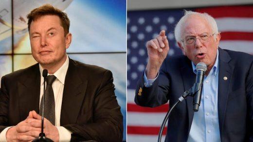 Bernie Sanders continues to berate Elon Musk