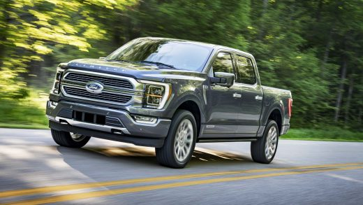All-new F-150 Limited in Smoked Quartz Tinted Clearcoat.