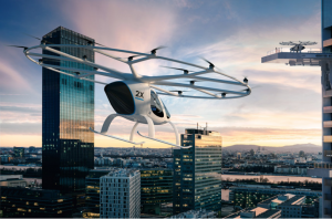 Air-Taxi startup Volocopter