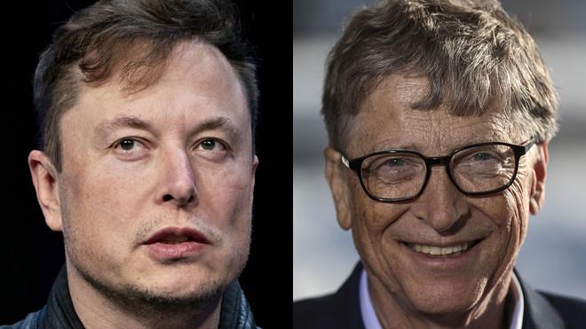 Elon Musk and Bill Gates