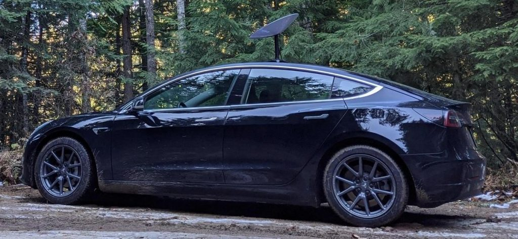 Tesla SpaceX Starlink