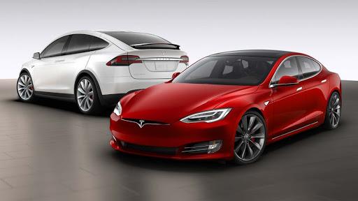 Tesla Model S and Tesla Model X