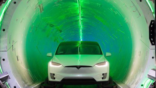 Boring Company Elon Musk North Miami Beach