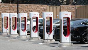 Tesla California Supercharger