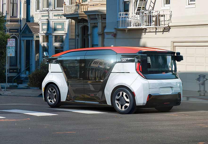 Cruise General Motors self-driving cars