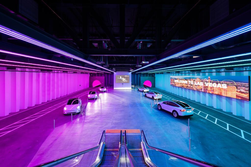 Boring Company Las Vegas Convention Center Loop