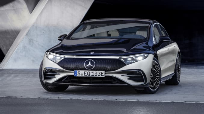 Mercedes-Benz EQS 2022