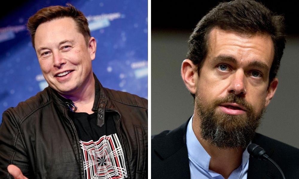 Jack Dorsey and Elon Musk