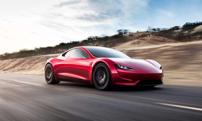 Tesla Roadster.  Courtesy Tesla