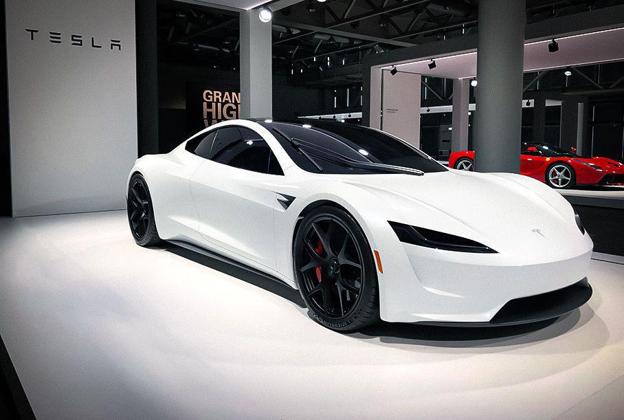 Tesla Roadster's Elon Musk