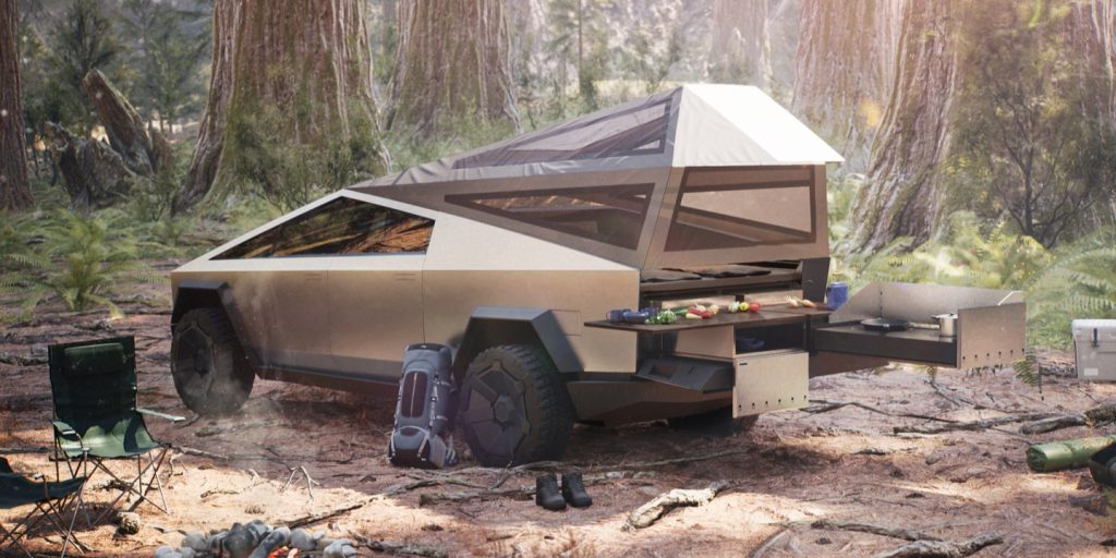 Tesla with Off-Road Assist proves at home in Moab Cybertruck
