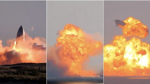 The SN8, SN9, and SN10 explosions