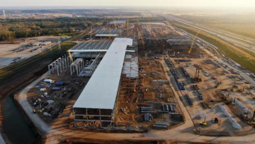 Gigafactory Tesla Berlin