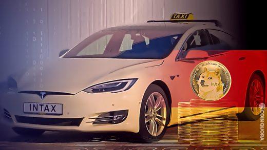 Tesla Taxi Aschaffenburg Dogecoin Payments