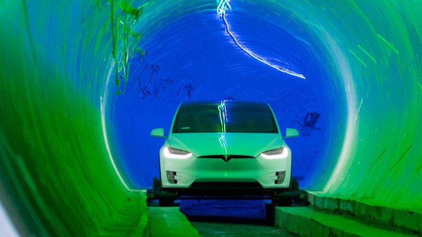 Elon Musk's Las Vegas Loop