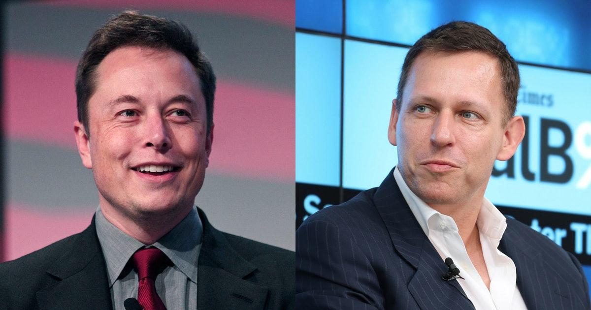 Peter Thiel Elon Musk's