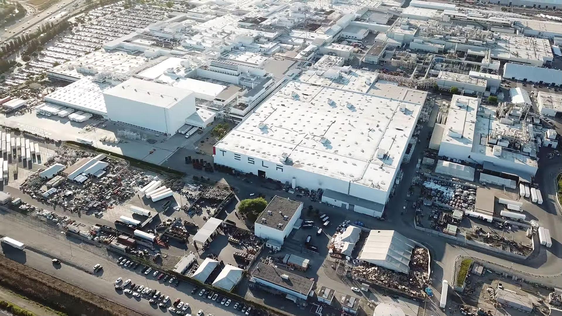 Tesla Model Y Fremont Factory