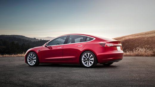 Tesla Model 3 California