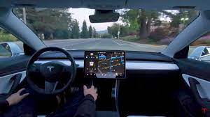Tesla FSD V.9