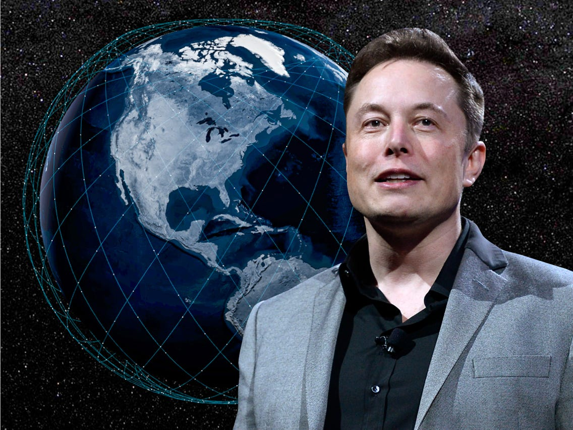 Elon Musk SpaceX's Starlink