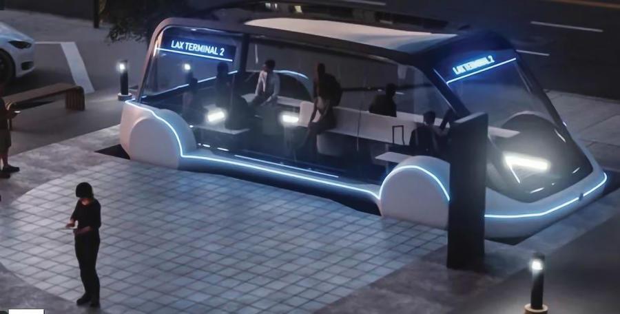 Tesla Shuttle