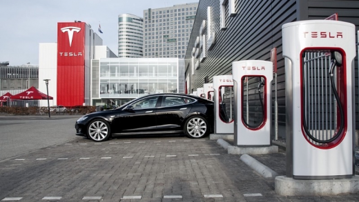 Tesla Supercharger Elon Musk