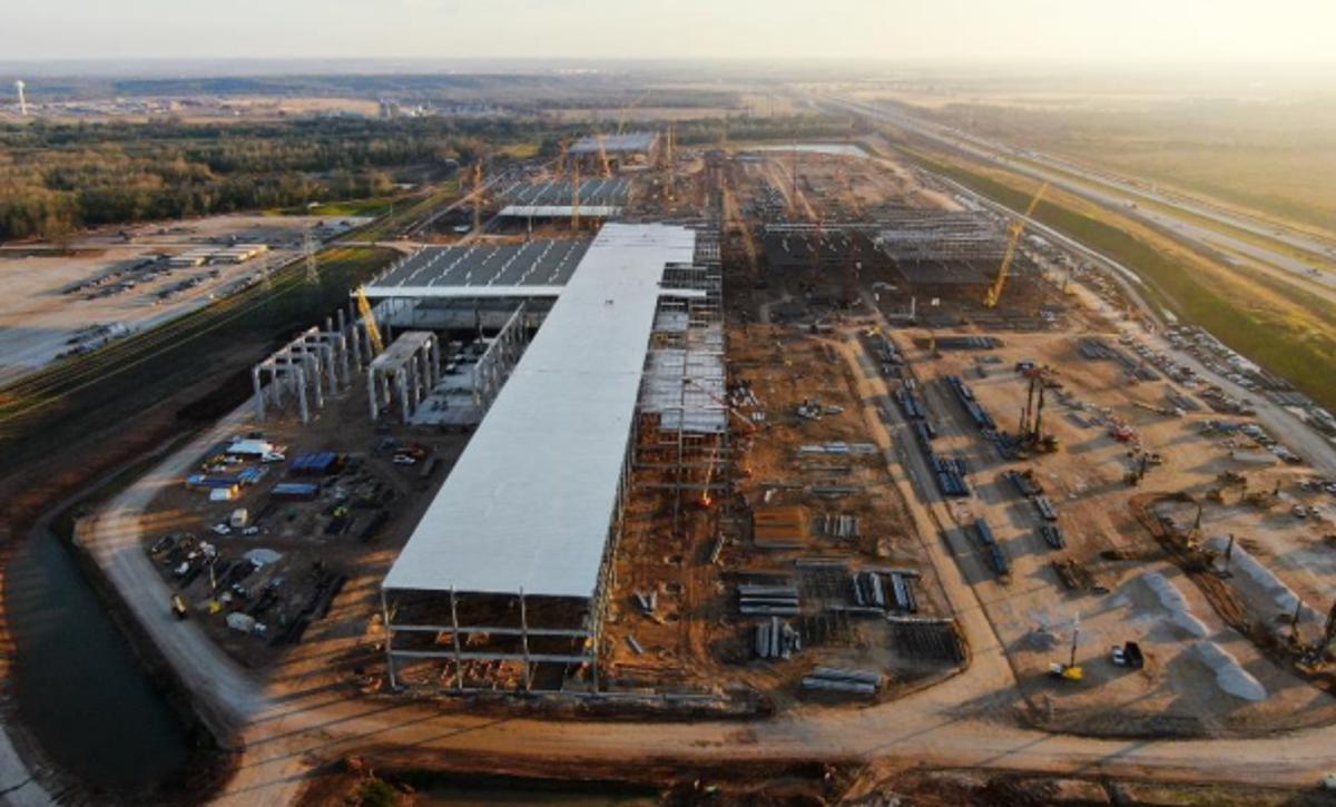Tesla Gigafactory Texas
