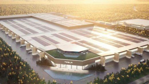 Gigafactory Berlin Tesla Elon Musk