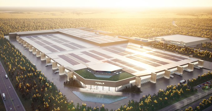 Tesla's German Gigafactory