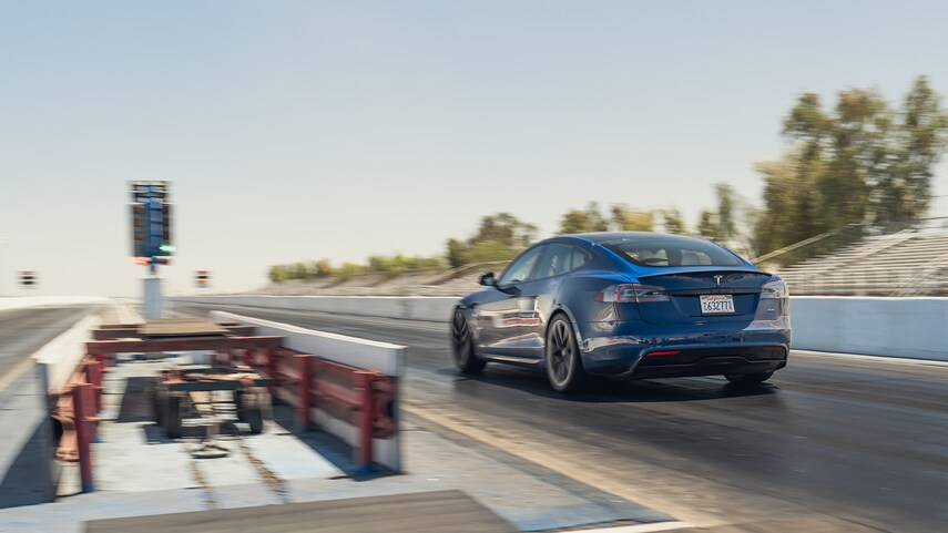 Tesla Model S Plaid Credit: MotorTrend
