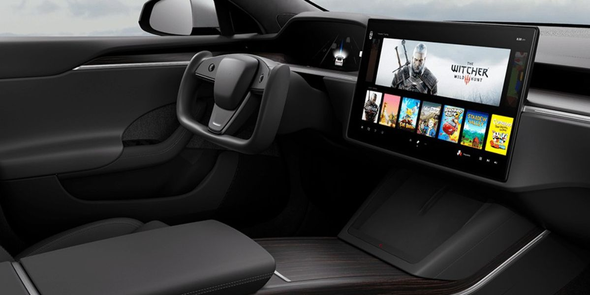 Tesla S, X model PS5 level Elon Musk