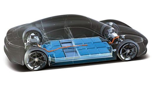 Porsche Taycan battery