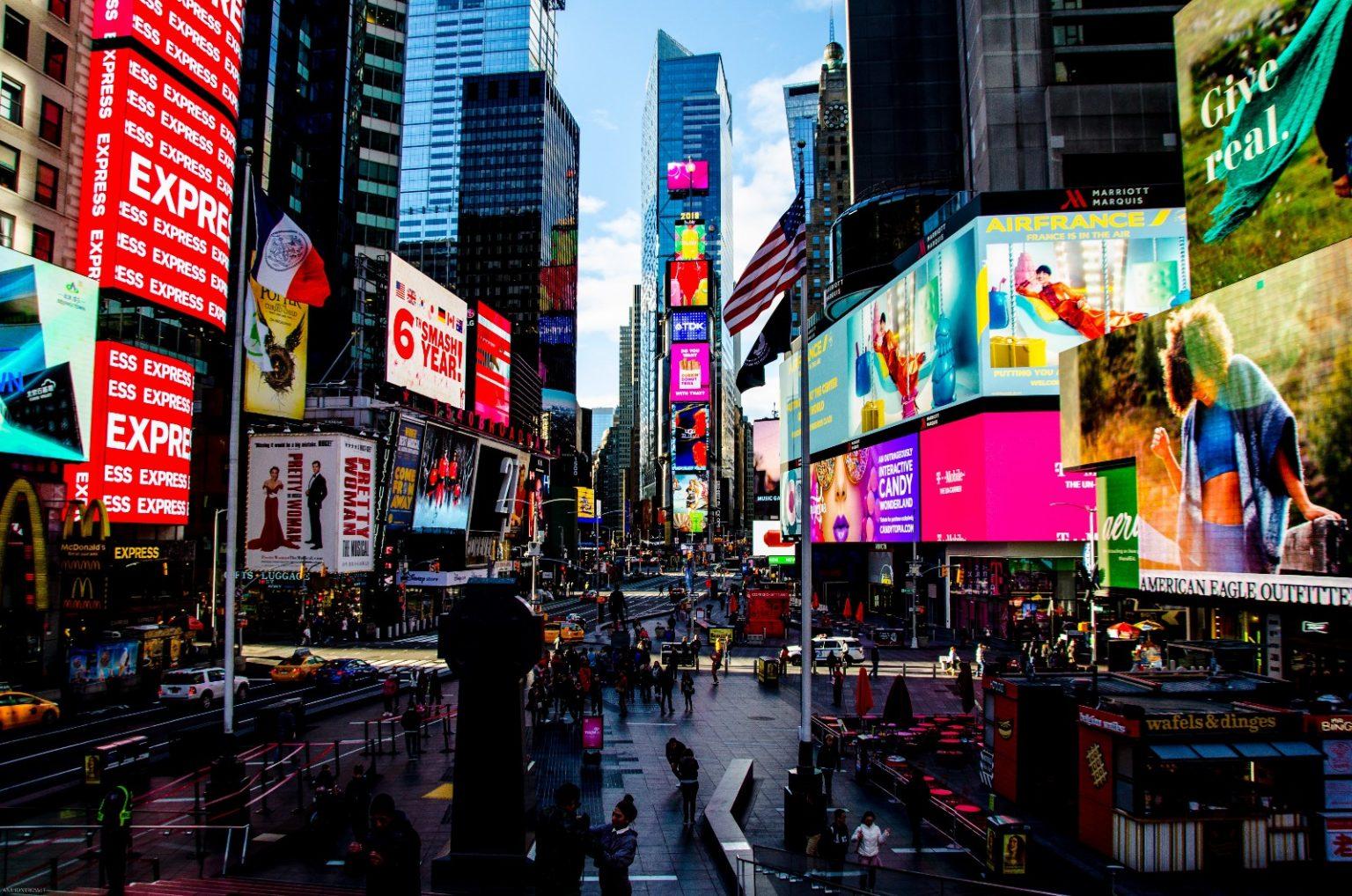 Tesla Times Square