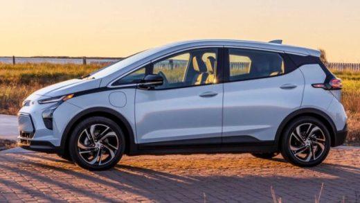 GM Chevrolet Bolt EVs