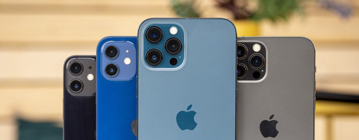 Apple iPhone Pro and iPhone Pro Max and iPhone Mini