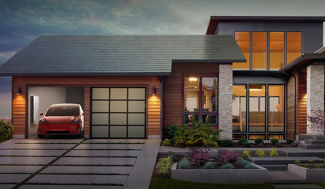 tesla solar