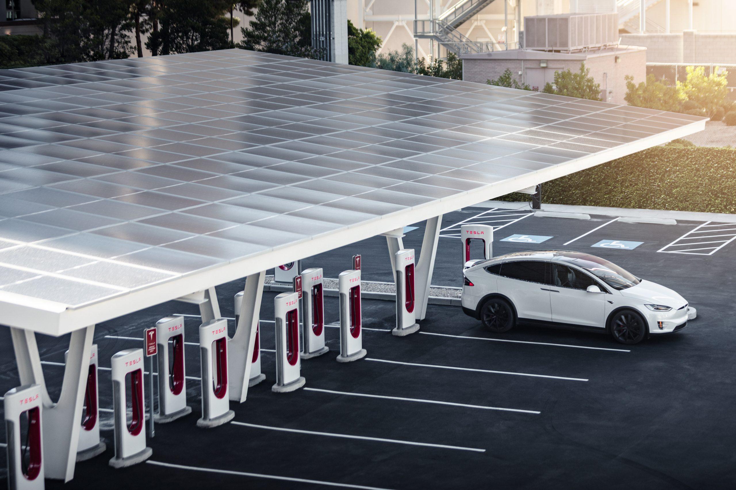 Credit: Tesla supercharger