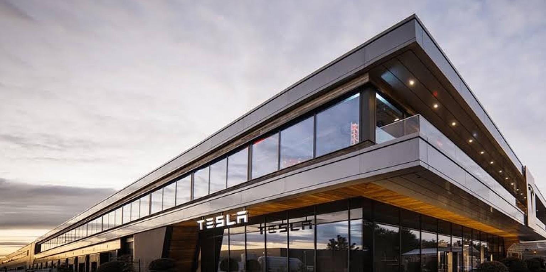 Tesla factory in Tilburg, Netherlands. (Credit: Tesla)