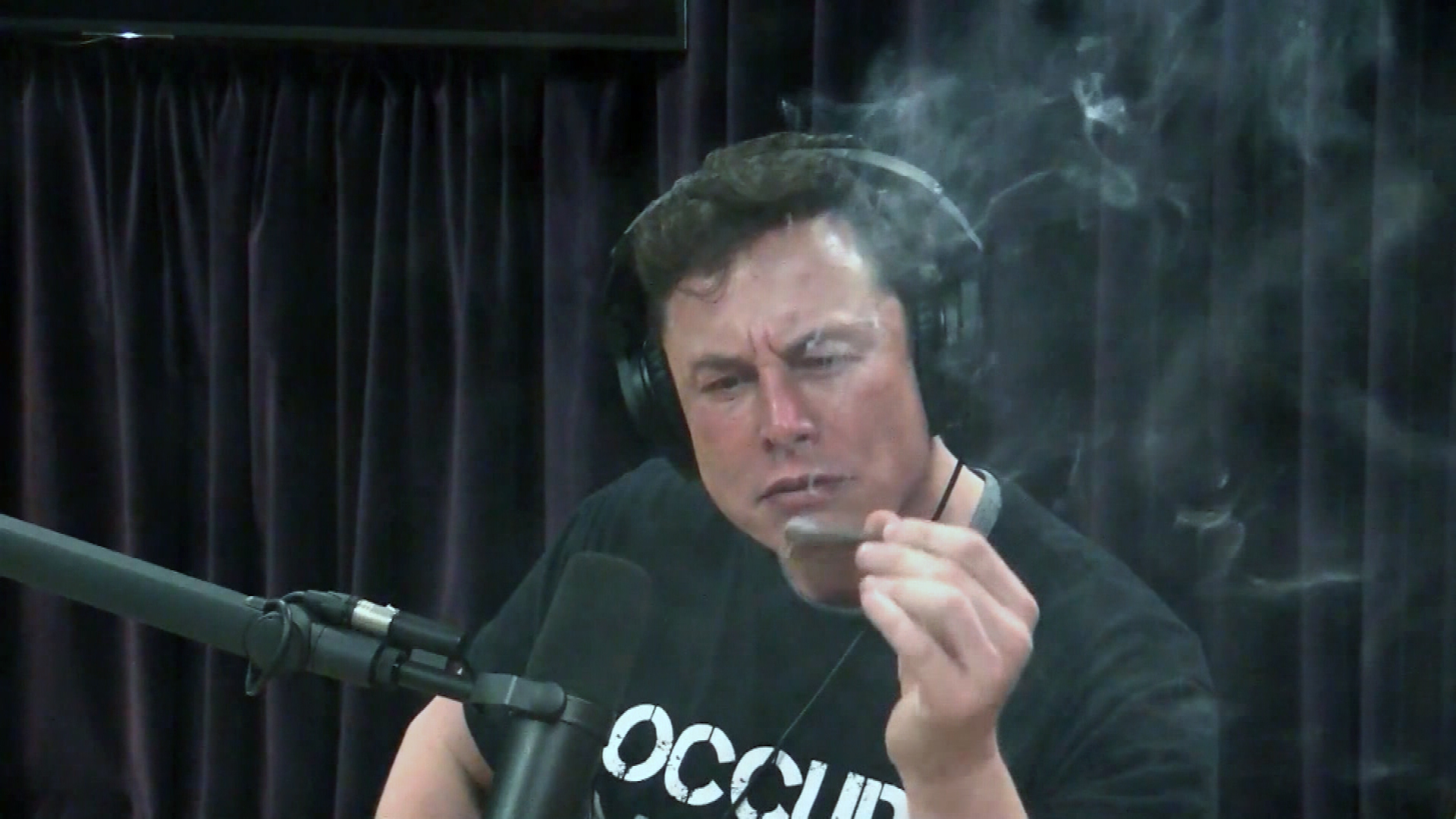 In 2018, Musk raised eyebrows when he smoked a joint on the Joe Rogan podcast.