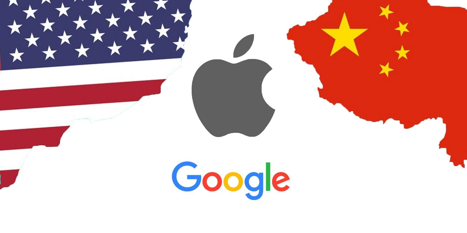 Apple Google China