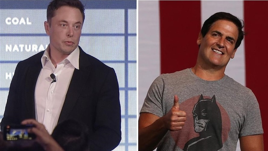 Elon Musk and Mark Cuban