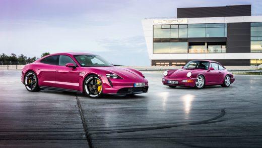 Porsche Taycan S 911