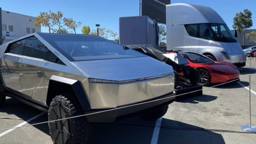 Tesla prototypes Cybertruck Roadster Tesla Semi