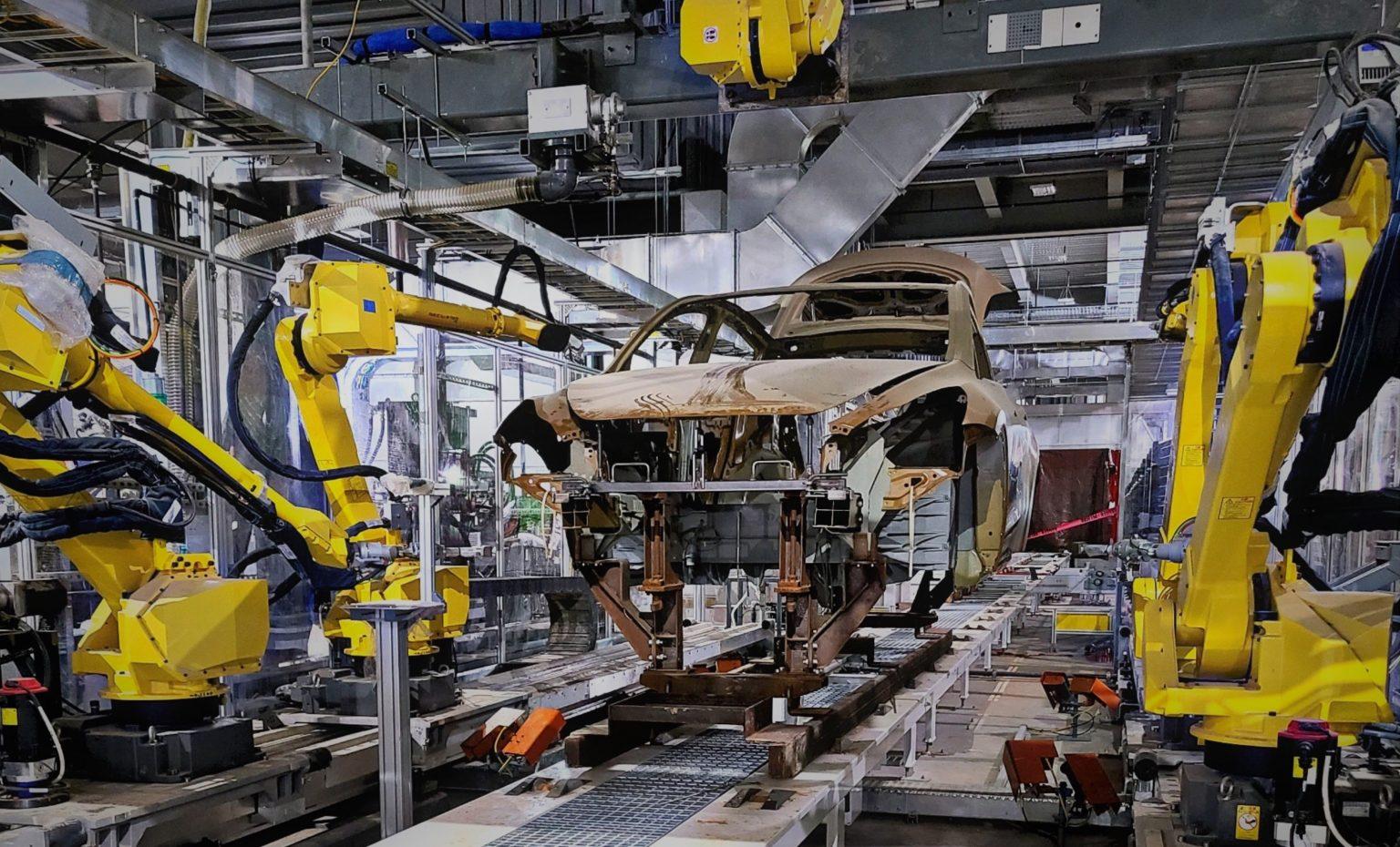 Tesla Model Y production gigafactory texas