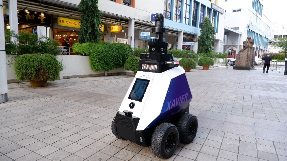 autonomous robot Xavier,