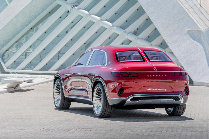 Mercedes-Benz Maybach SUV electric