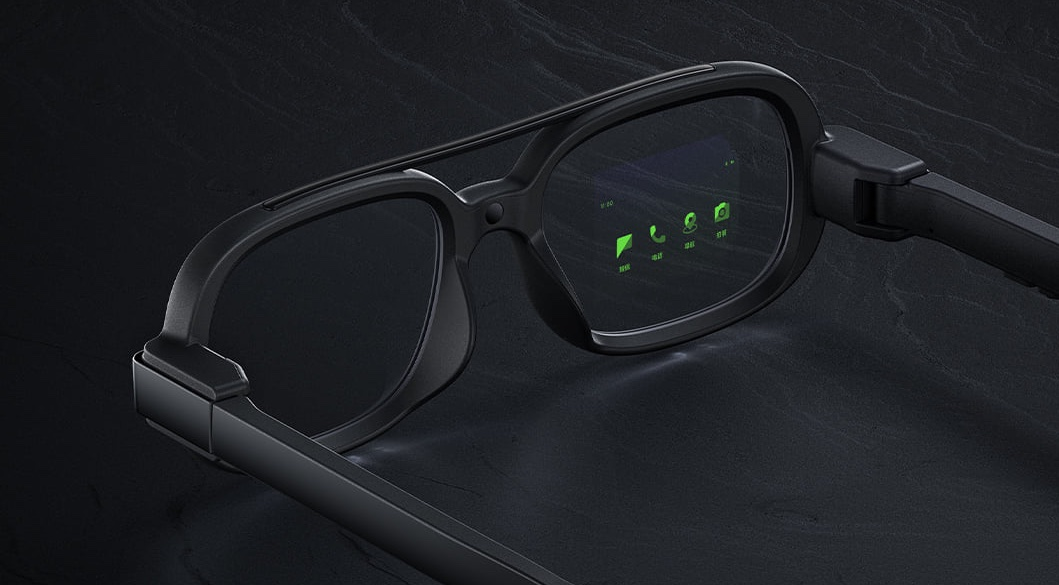 Xiaomi concept smart glasses MicroLED display