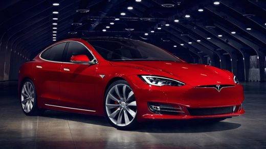 Tesla Model S Plaid. Tesla