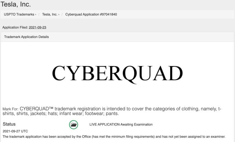 Tesla Cyberquad