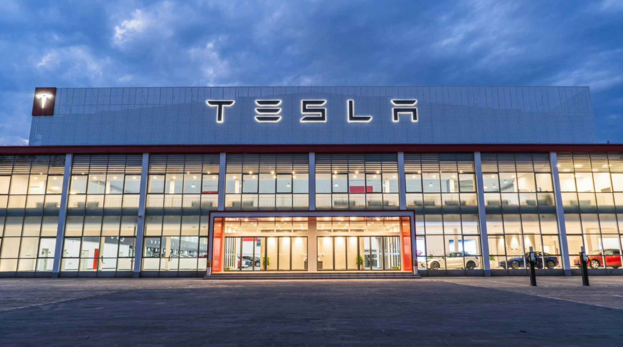 Tesla Delivery Center